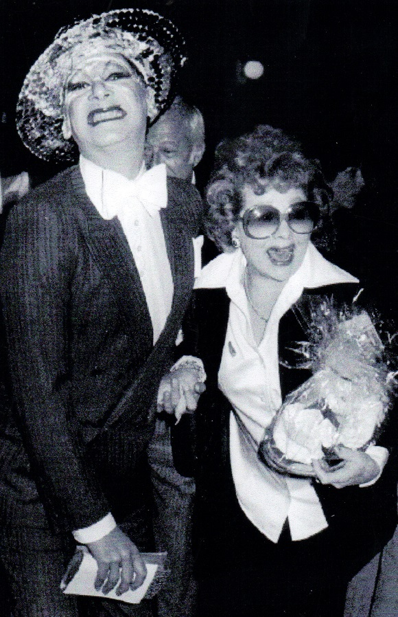 """James """"Gypsy"""" Haake and Lucille Ball."""