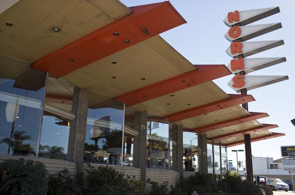 Norms restaurant at 470-478 N. La Cienega Blvd.