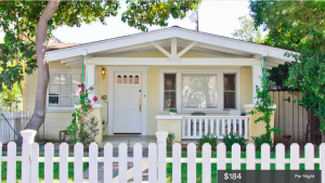 Former WeHo resident Kavah's house on Norton Drive listed at $184 a night.