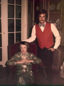 Betty Davis, left, with Wes Wheadon, photo from early 1970s
