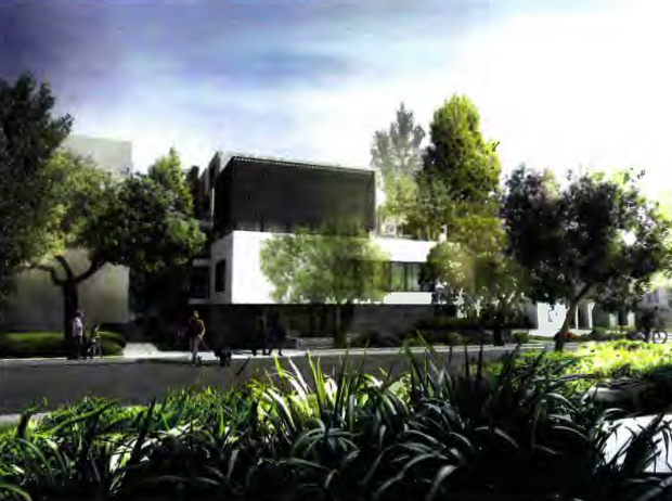 Illustration of 826 N. Kings Rd.  project.