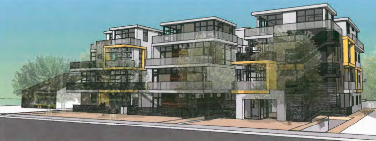 Project proposed for North Ogden Drive (Dean Larkin Design)