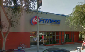 24 Hour Fitness at 8612 Santa Monica Blvd.