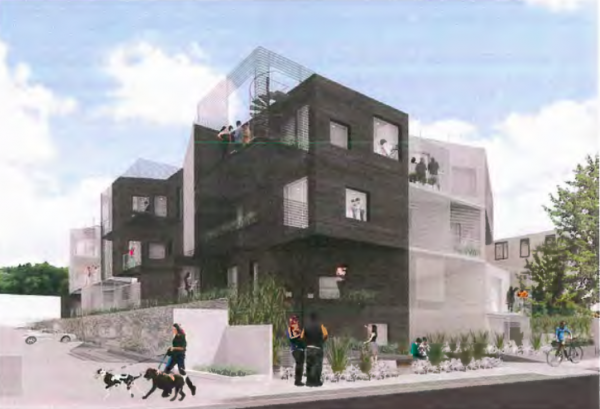 Proposed condo building at 1028 N. Kings Rd.