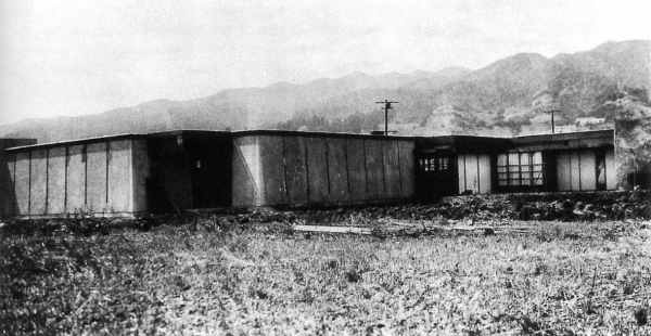 Schindler-Chace House, 835 N. Kings Rd., 1922. Rudolph Schindler, architect. (Photo courtesy UC Santa Barbara Art Museum, Architecture and Design Collections, Schindler Collection.)