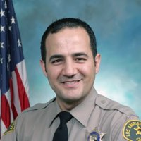 L.A. County Sheriff's Deputy Matt Ahrari