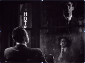 """Scene from """"Murder, My Sweet"""" (Photo credit: Tufts University – Film Noir and the American Tradition)"""