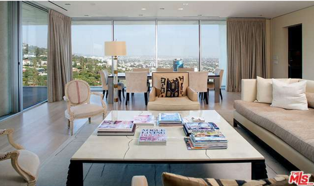A condo at 9255 Doheny Rd. listed for sale at $4 million.