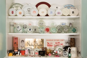 Alison Martino's collection of old Sunset Strip nightclub and restaurant memorabilia. (Photo by Steffanie Walk)