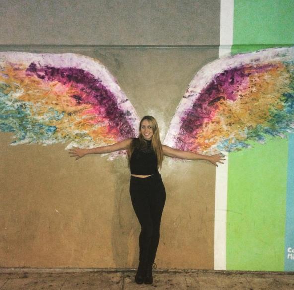 Angel Wings on Palm Avenue. #keeraww