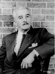 William Faulkner (Photo courtesy of the Library of Congress, Washington, D.C., Carl Van Vechten Collection)