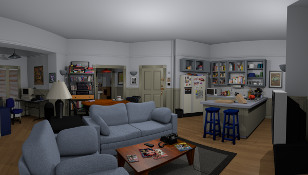 5A, Seinfeld's fictitious apartment on New York's Upper West Side.