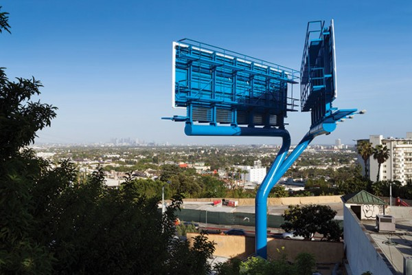 Sunset Boulevard billboard (Photo Lawrence Anderson | Esto)