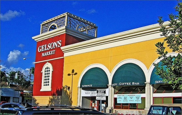 Gelson's Market on Santa Monica Boulevard at North Kings Road