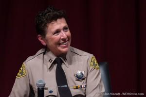 Capt. Holly Perez (Photo by Jon Viscott)