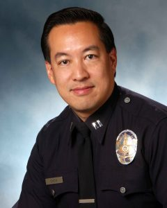 L.A. Police Capt. Blake Chow