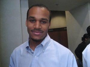 Damien Goodman, executive director of the Crenshaw Subway Coalition