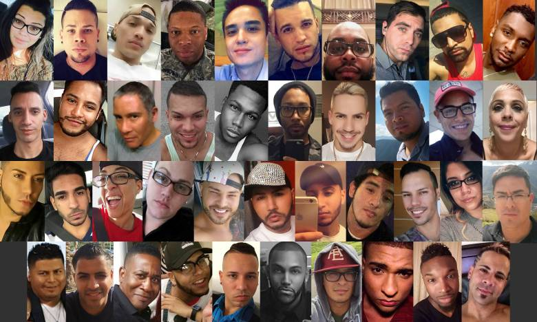 Victims of the massacre at Orlando's Pulse nightclub.
