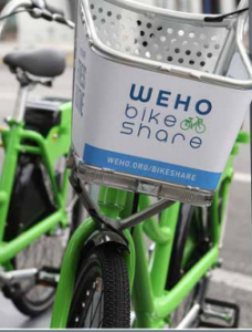 WeHo bike share