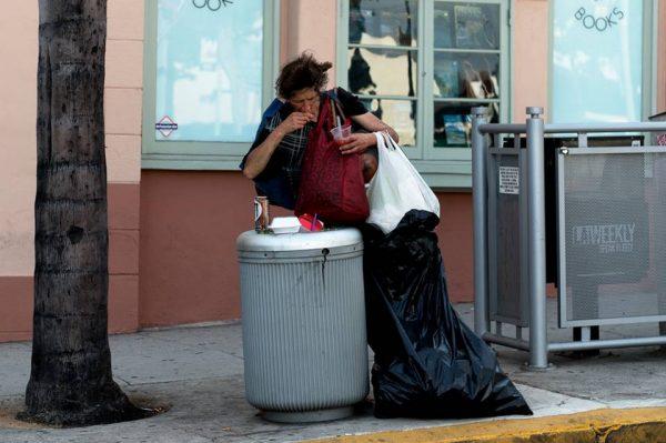 homeless, santa monica boulevard, circus of books