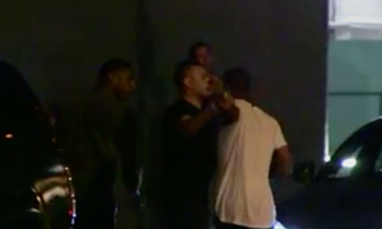 Michael Sam in an altercation outside Bootsy Bellows (TMZ)