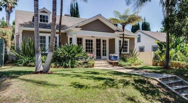 Lucille Ball's home at 1344 N. Ogden Drive in West Hollywood. (Photo from MLS)