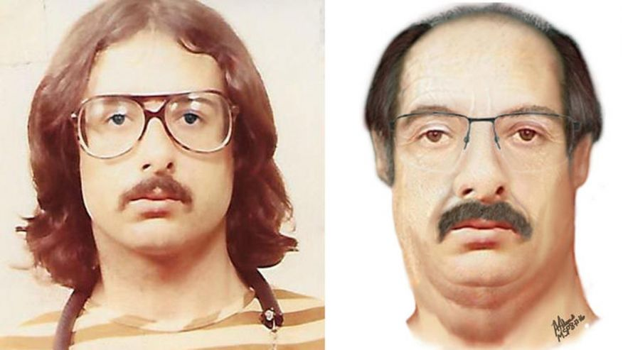 John Kelly Gentry in 1983 and how he may look today (Source Monroe County, Mich., Sheriff's Department)