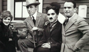 The Lot, Mary Pickford, Charlie Chaplin, Douglas Fairbanks