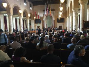 Hearing on 8150 Sunset project at L.A. City Hall