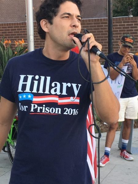 """Hillary for Prison 2016"""