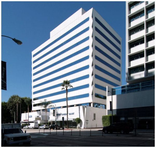 9255 Sunset Blvd., home of the former Cavendish West Club, which its owners dissolved in 1993.