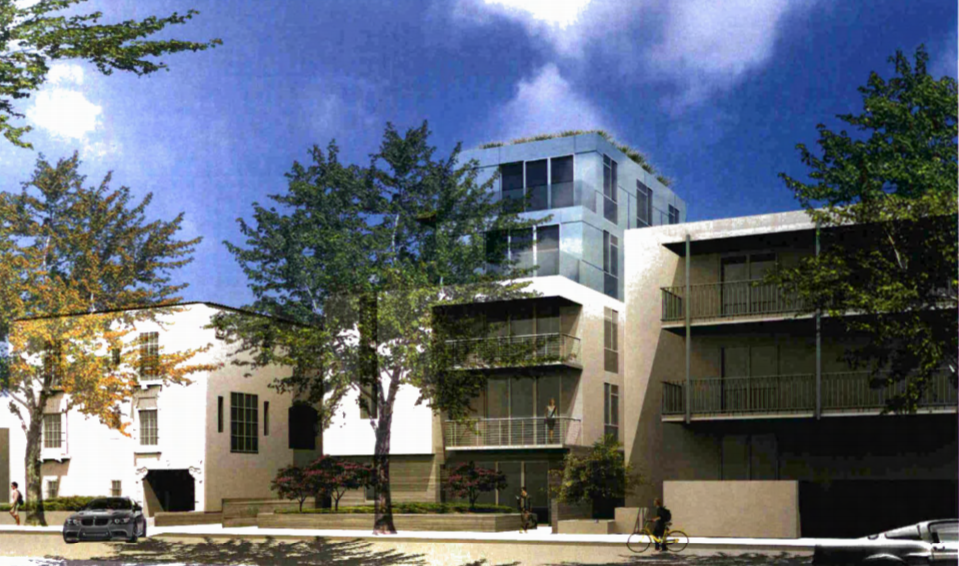 Rendering of latest design of 1216 N. Flores (Takacs Architecture)