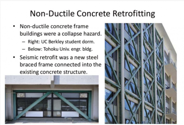 non-ductile concrete, earthquake