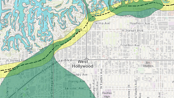 Geologic Survey Map Makes It Easy to Determine If Your WeHo Building on