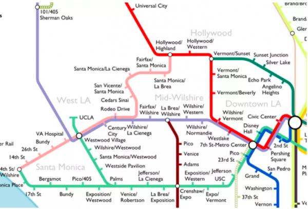 Metro 2040 map
