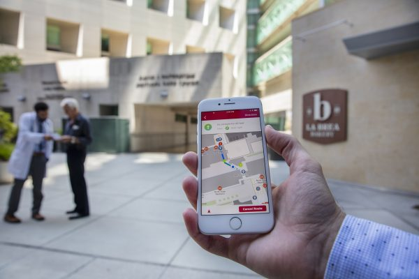 Navigating Cedars-Sinai Medical Center? There's an App for That