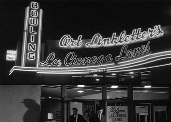 A Nighttime Look Back at Vintage West Hollywood